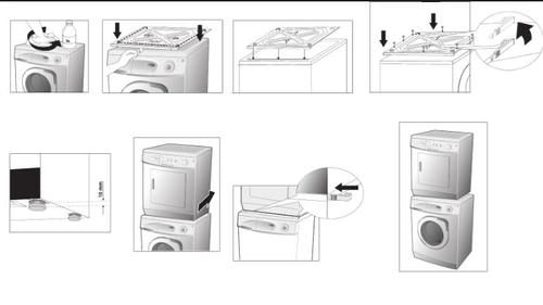 "Lg Stackable Washer And Dryer lg® 27"" laundry stacking kit at menards®"