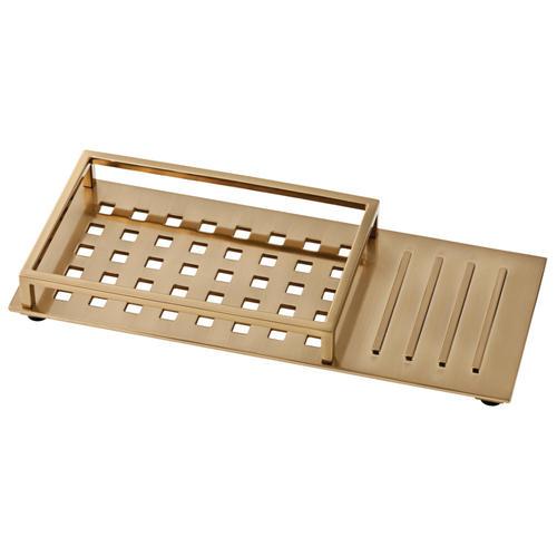 bathroom vanity tray decor.htm delta   vero vanity tray organizer at menards    delta   vero vanity tray organizer at