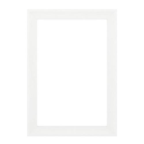 "Delta® 33"" x 47"" Large/L1 Rectangular Mirror Frame in Matte White"