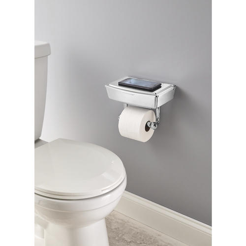Delta 174 Porter 174 Toilet Paper Holder With Storage At Menards 174