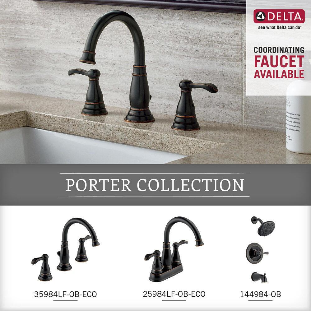 Delta Porter Towel Ring in Oil Rubbed Bronze