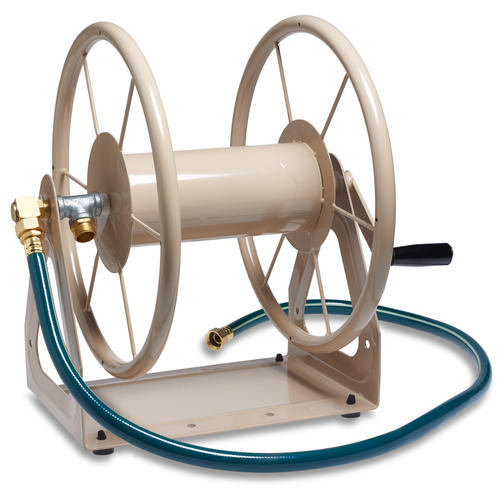 Liberty Garden 200 Ft Heavy Duty Wall Mount Hose Reel At Menards