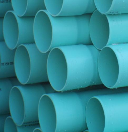 Belled End Solid Pvc Sewer And Drain Pipe Astm D3034 At Menards