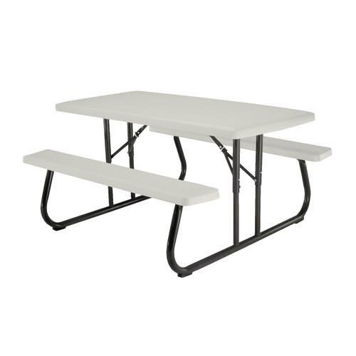 lifetime® 5' folding picnic patio table at menards®