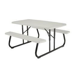 Lifetime® 5u0027 Folding Picnic Patio Table At Menards®