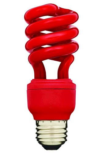 Home Luminaire 13 Watt Mini Cfl Red Light Bulb At Menards