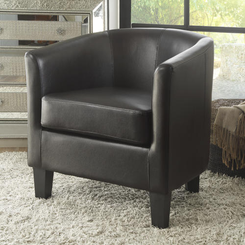 Fine Enzo Accent Chair Brown At Menards Short Links Chair Design For Home Short Linksinfo