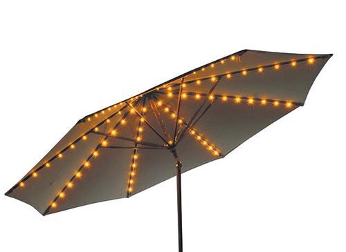 8 strand 100 light umbrella light set at menards workwithnaturefo