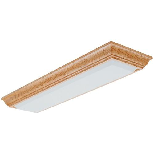 Lithonia Lighting Cambridge 53 X 15 Polished Oak Fluorescent