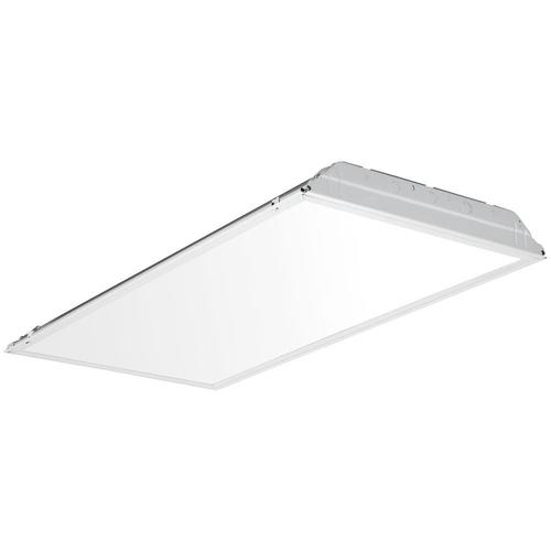 Lithonia Lighting 4 X 2 Matte White Integrated Led Troffer