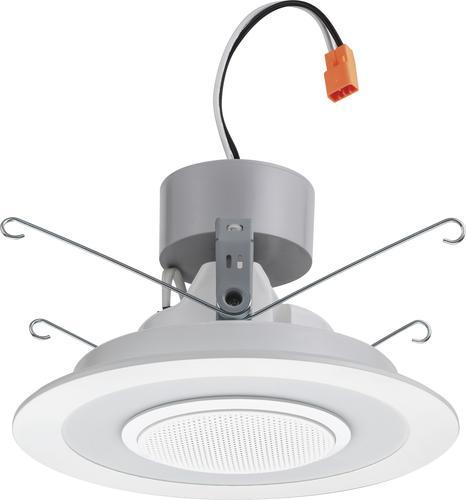 Lithonia Lighting 6 Matte White Led Speaker Recessed