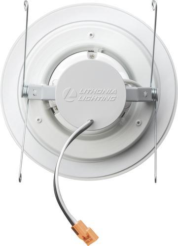 Strange Lithonia Lighting 6 Matte White Led Speaker Recessed Downlight At Wiring Database Denligelartorg