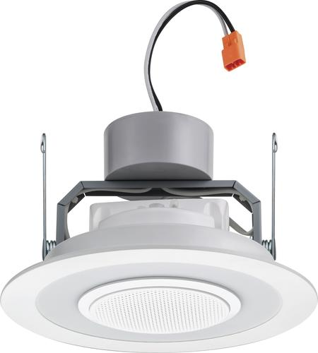 Lithonia Lighting 6 Matte White Led Speaker Recessed
