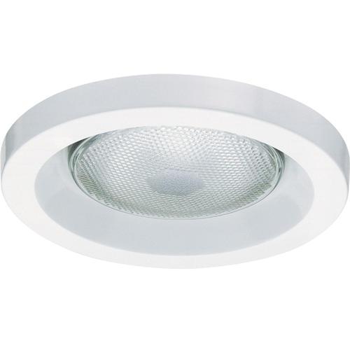 "Lithonia Lighting Recessed Downlight: 5"" White Shower Recessed Trim At Menards®"