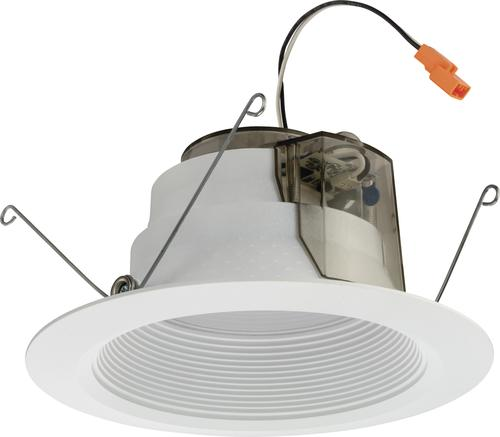Lithonia Lighting 6 2700 K Matte White Led Baffle Recessed