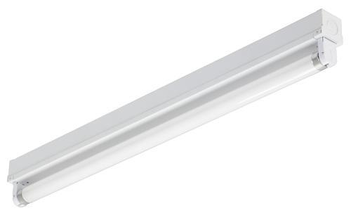 Lithonia Lighting 2 White 1 Light T8 Fluorescent