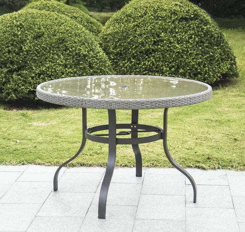 Backyard Creations Lacey Round Dining Patio Table At Menards