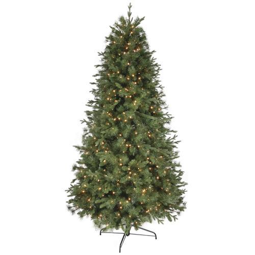Enchanted Forest® 8' Prelit Hudson Fir Artificial Christmas Tree