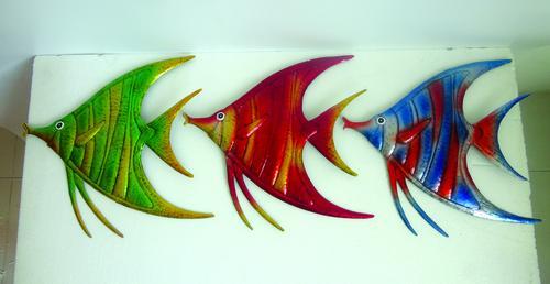 Enchanted Garden Metal Fish Wall Art Assorted Styles At Menards