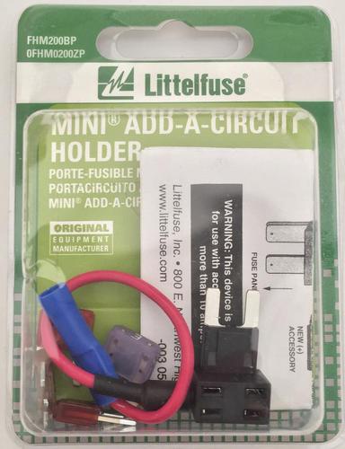 Littelfuse U00ae Automotive Mini U00ae Add-a-circuit U00ae Fuse Holder