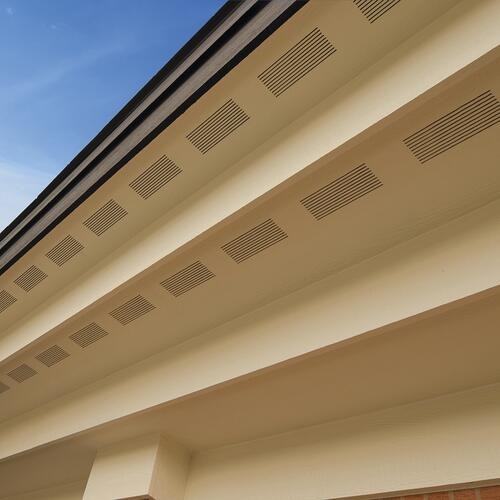 Lp Smartside 3 8 X 16 Textured Engineered Wood Strand Vented Soffit At Menards