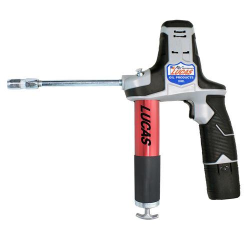 Electric Grease Gun >> Lucas Oil 8 Volt Cordless Grease Gun At Menards