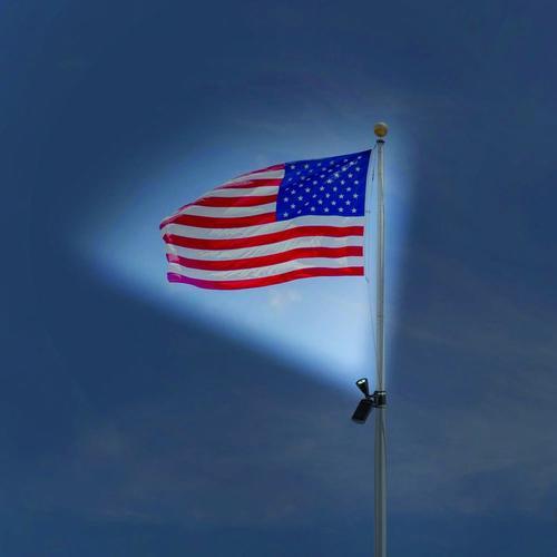 Solar Lights At Menards: Patriot Lighting® Solar LED Flag Light At Menards®