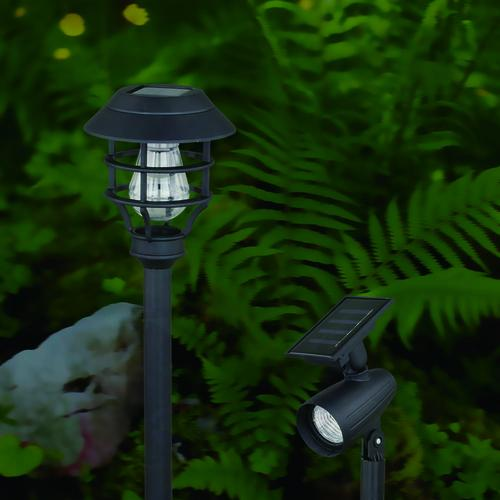 Patriot Lighting Solar Intergrated Led Balta 8 Pk Landscape