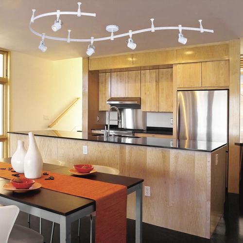 Patriot Led Track Lighting: Patriot Lighting® Pinhole 5-Light LED Flexible Track Light