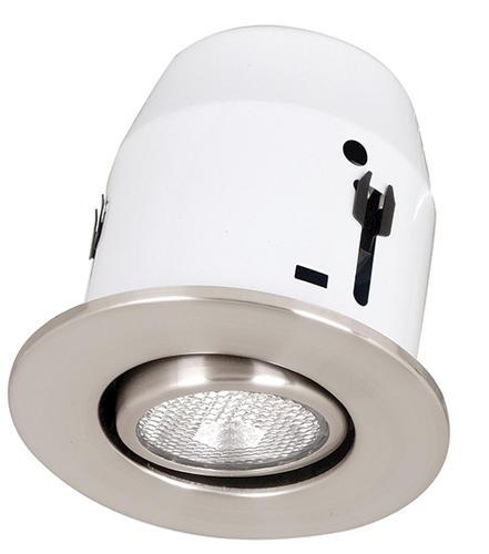 Patriot Lighting 4 1 Light Recessed With Satin Nickel Gimball At Menards