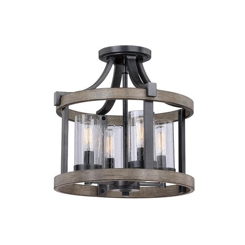 Patriot Lighting® Elegant Home Brooklyn Natural Iron and