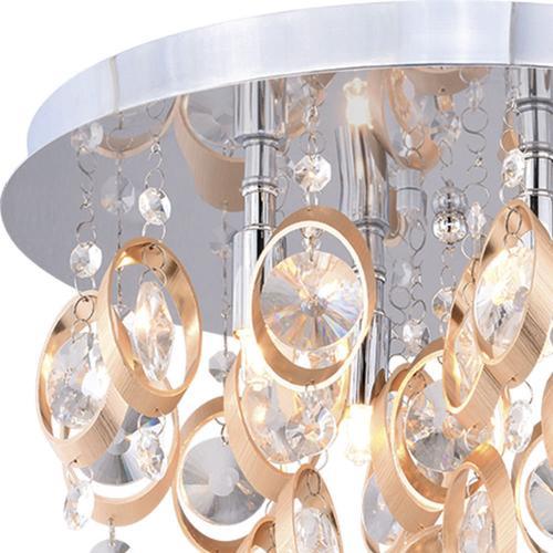Patriot Lighting Elegant Home Raina 4 Light Flush Mount