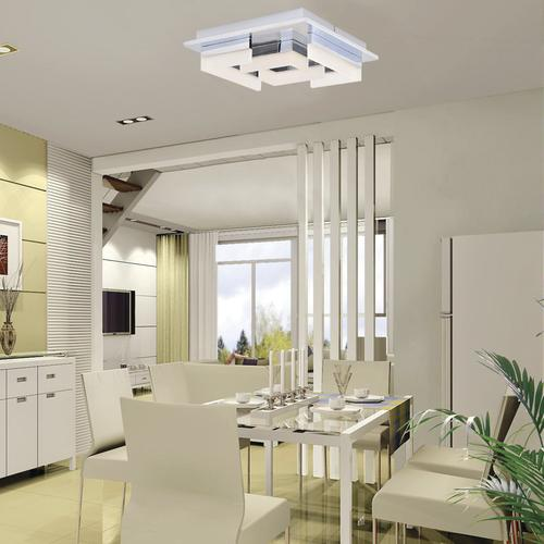 Get Large Amount Of Illumination With Led Kitchen Ceiling: Patriot Lighting® Leisa LED Flush Mount Ceiling Light At