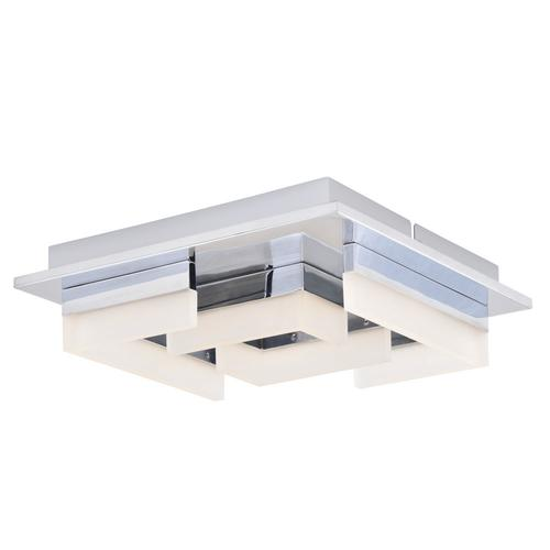 Patriot Lighting® Leisa LED Flush Mount Ceiling Light At