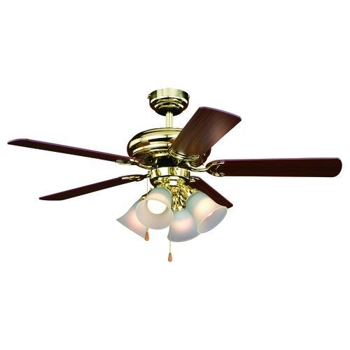 Patriot Lighting Minerva Ii 44 Indoor Led Ceiling Fan At Menards
