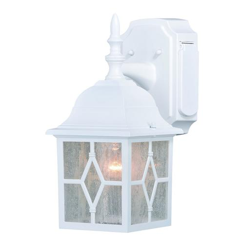 Patriot Lighting Galeana 12 5 Outdoor Wall Light W Outlet