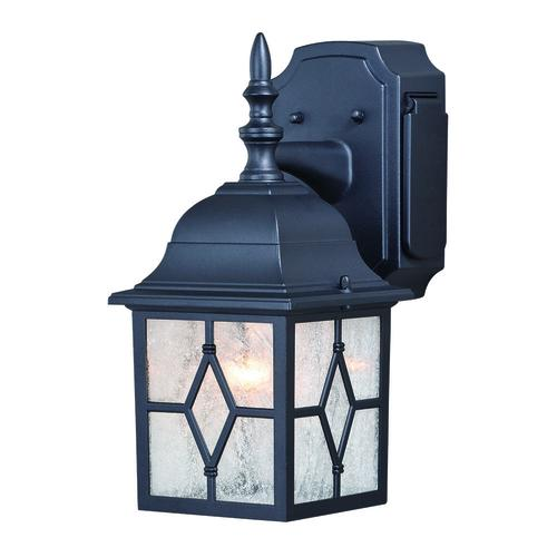 "Outdoor Flood Light With Power Outlet: Patriot Lighting® Galeana 12.5"" Outdoor Wall Light W"