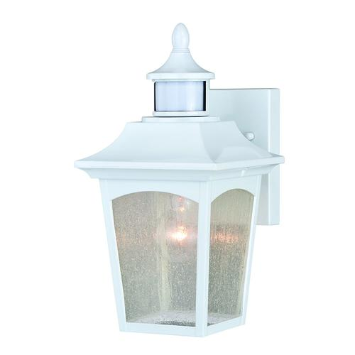 Patriot Lighting Dualux Eloise Ii White Motion Sensor