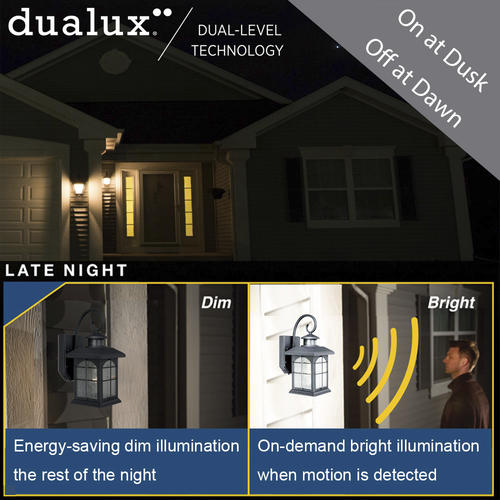 Prime Patriot Lighting Dualux Bronze Incandescent Motion Sensor Interior Design Ideas Inesswwsoteloinfo