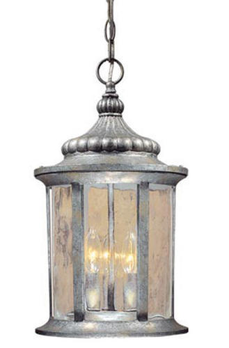 Patriot Lighting Valencia 18 Gilded Silver Outdoor Pendant Light At Menards