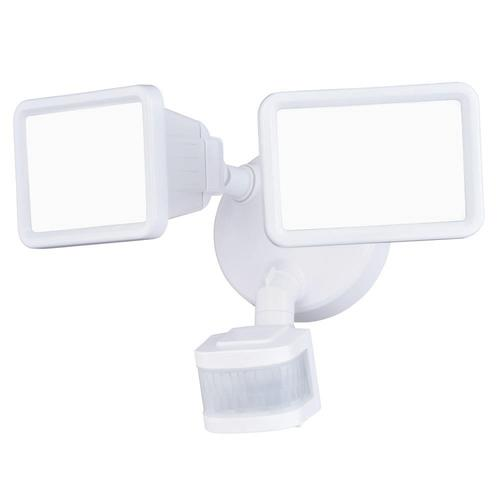Patriot Lighting® Dualux LED Dual Head Motion Sensor Outdoor