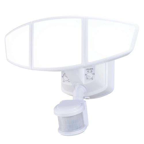 Patriot Lighting® Dualux LED Triple Head Motion Sensor
