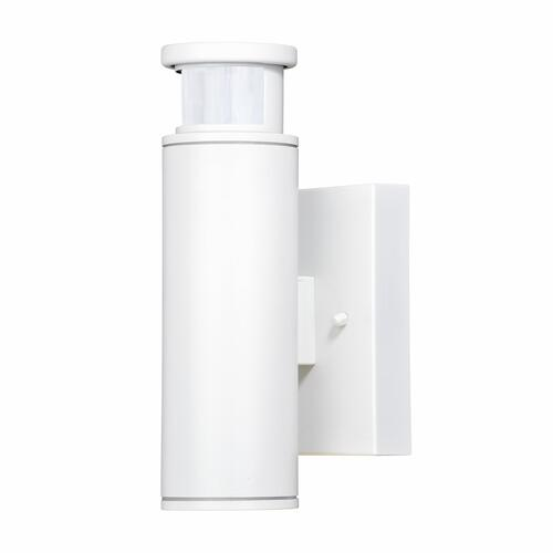 Patriot Lighting® Dualux Cylinder Textured White Motion