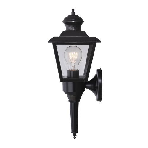 Patriot Lighting® Dualux Brookline III Black Motion Sensor