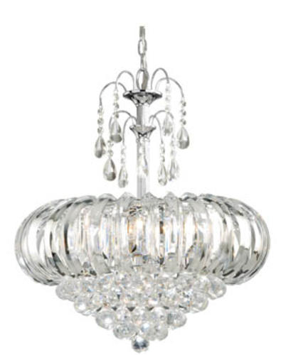 Patriot lighting royal 20 25 chrome contemporary 5 light chandelier at menards