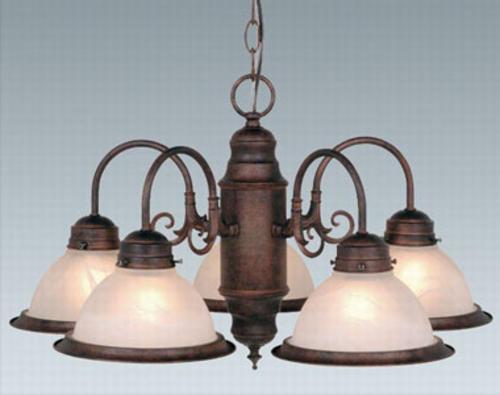 & Patriot Lighting® Saturn 5-Light Chandelier at Menards®
