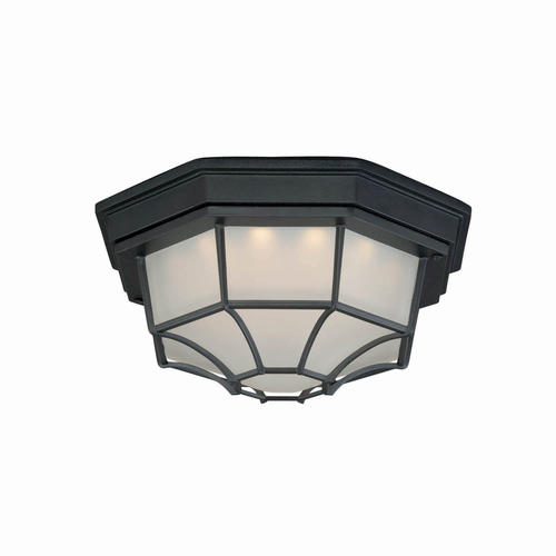 Patriot Lighting 174 Caine 11 Quot Textured Black Led Outdoor Ceiling Light At Menards 174