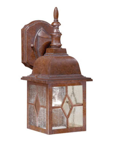Patriot Lighting Lawrence Rustic Brown 13 75 Outdoor Wall