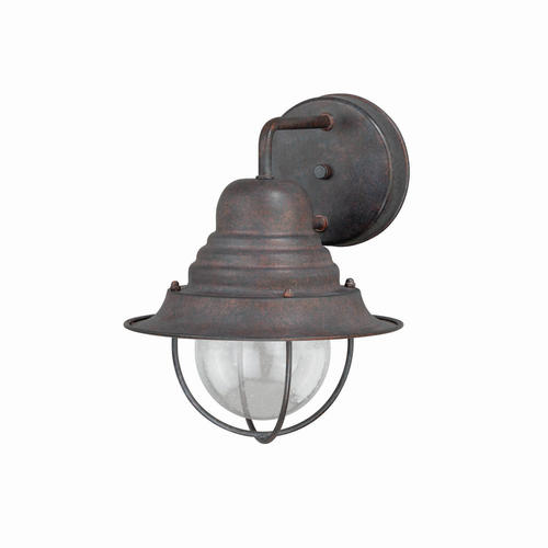 Patriot lighting chatham weathered patina 10 25 outdoor wall light at menards