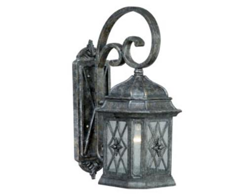 Patriot Lighting Chelsea Vintage Patina Outdoor Wall Light At Menards